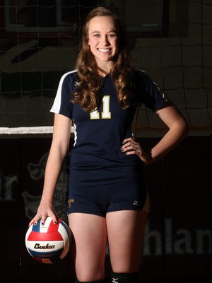 Charlotte Brown of Coronado is the All City volleyball Player of the year.