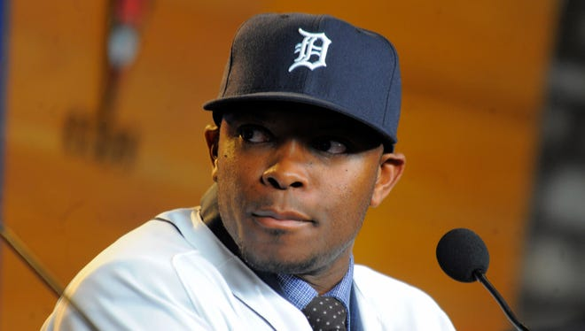 Starting left fielder Justin Upton is one of nine new players the Tigers acquired over the offseason who are expected to play vital roles.