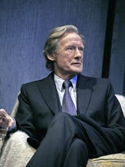 "Bill Nighy in ""Skylight"" by David Hare. The show received"