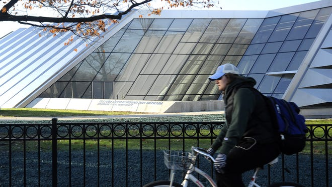 The Eli and Edythe Broad Art Museum is located on the campus of Michigan State University in East Lansing.