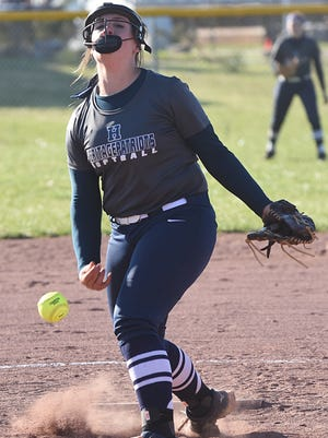 White House Heritage sophomore pitcher Alyssa Arden has an ERA below 1.00 and is hitting .500 this season.