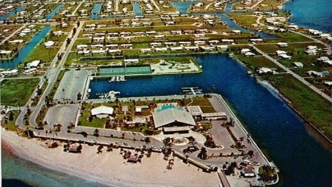 Membership to the Yacht Club was automatic with the purchase of a home site.