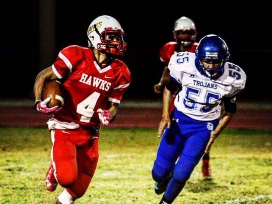 Rio Rico running back Rickey Perez was diagnosed with