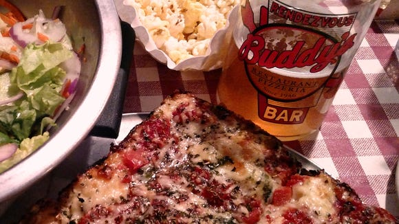 Buddy's Pizza and Griffin Claw Brewing have teamed