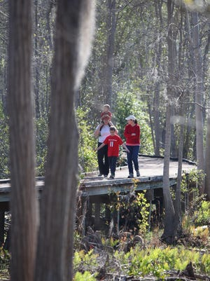 Boardwalks provide a great way for families to explore the edges of the Okefenokee Swamp in Folkston.