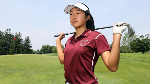 Junior Kaitlyn Lee of Scarsdale, The Journal News/lohud