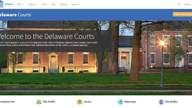 The Delaware Courts have launched a new website.