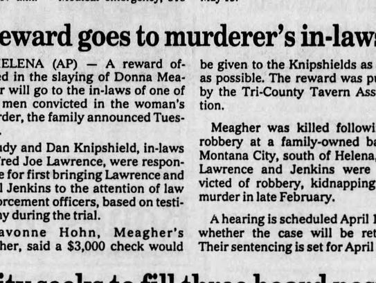 Coverage of the Donna Meagher murder trial.