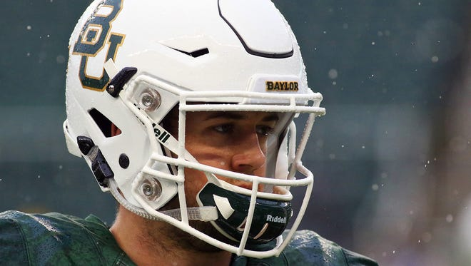 Baylor junior Seth Russell will miss the remainder of 2015 after surgery for a broken bone in his neck.