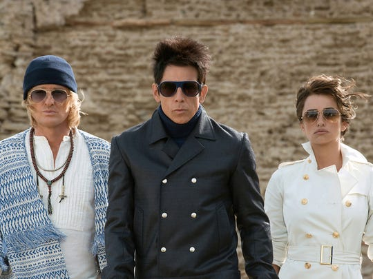 Owen Wilson (from left) plays Hansel, Ben Stiller plays