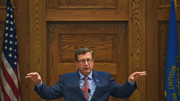 Mayor Mike Huether has taken an aggressive approach