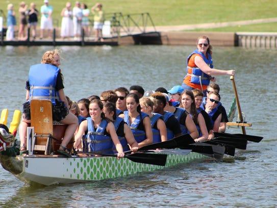 Bayou DeSiard Dragon Boat Festival is Saturday.