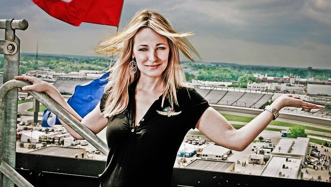 Laura Steele will be seen on WISH-8 during the station's 108-day countdown to this year's Indianapolis 500.
