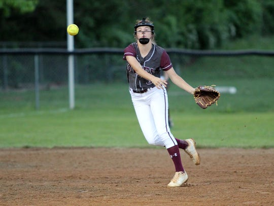 Caitlyn Ledford received all-state recognition from
