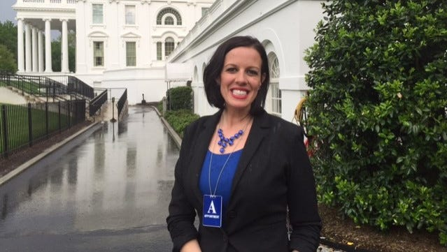 Oak Grove Lower Elementary teacher Anna Morris was honored at the White House on Tuesday, May 3, 2016 for being named Teacher of the Year in Mississippi.
