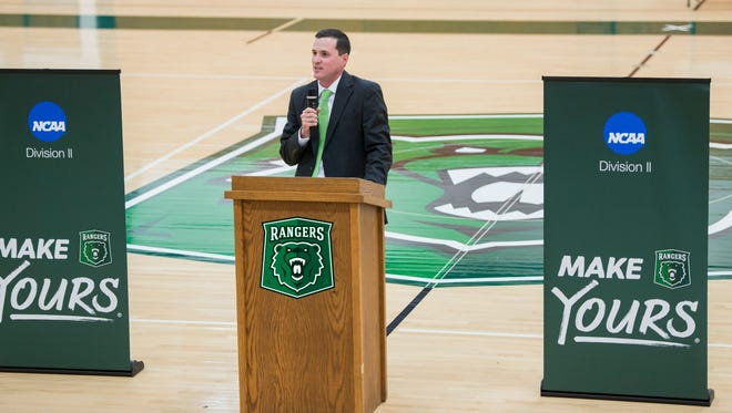 The University of Wisconsin-Parkside named Andrew Gavin its athletic director in August.