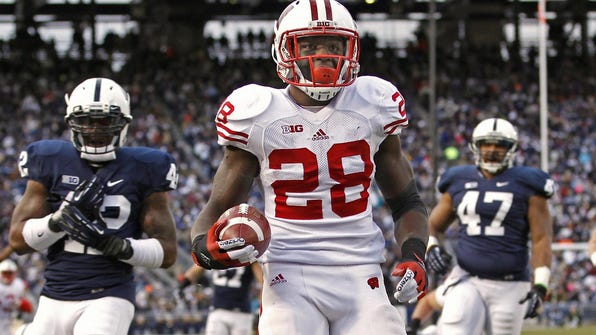 According to WKOW-TV in Madison, former Badgers running back Montee Ball was arrested again Saturday night for felony bail jumping.