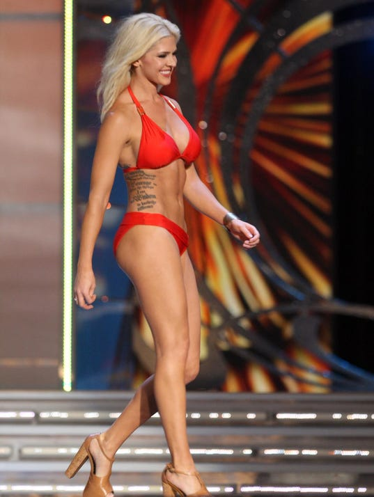 Miss America Contestant Shows Her Tattoos