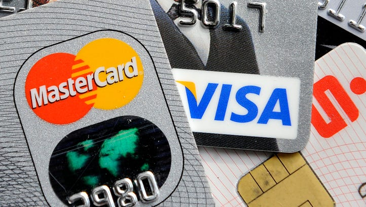 Credit and bank cards with electronic chips,