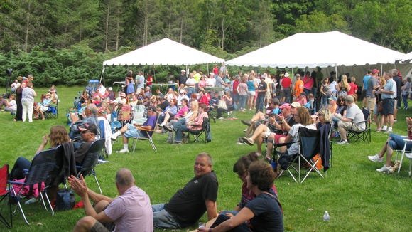 It was a fun afternoon of music and chili at Penfield's Amphitheater.