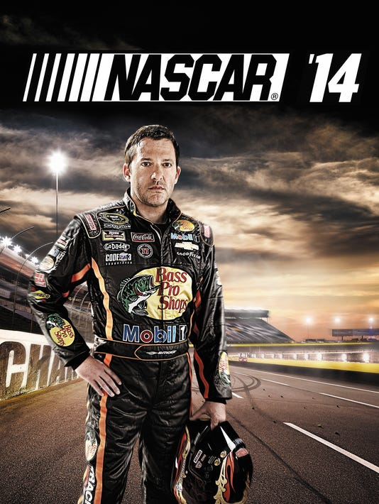 The driver on the cover of new NASCAR video game is...