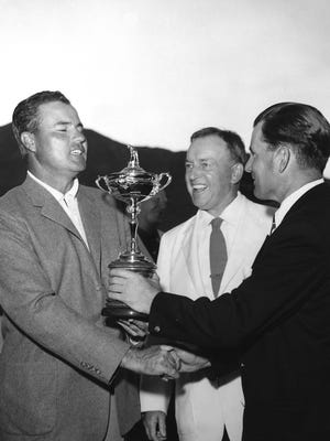 Thunderbird Country Club hosts golf's Ryder Cup in 1955.  As one of golf's biggest international events struggled for footing after World War II, it found a home in Rancho Mirage.