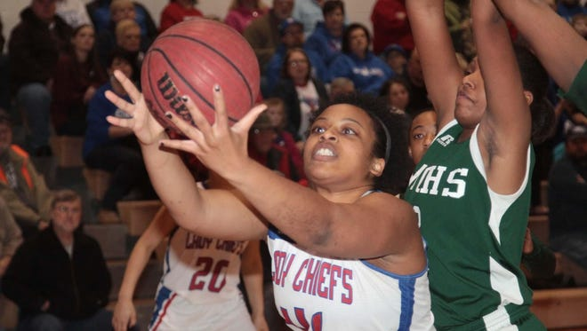West Ouachita's Trinity Griffin (41) was the co-MVP of District 2-4A and a first team All-NELA selection as a junior in 2014.