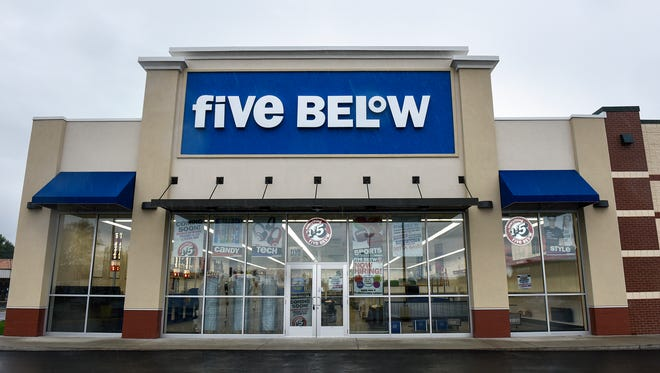 The new Five Below location in Waite Park is pictured Wednesday, Sept. 7.