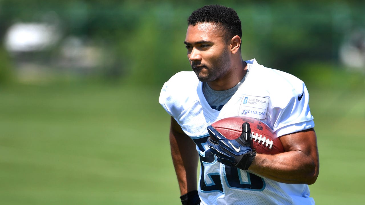 Titans rookie Khalfani Muhammad offers blazing-fast speed in a tiny package and could complement bruising DeMarco Murray and Derrick Henry.