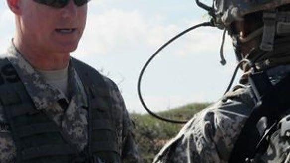 Brig. Gen. Terry McKenrick, the commanding general