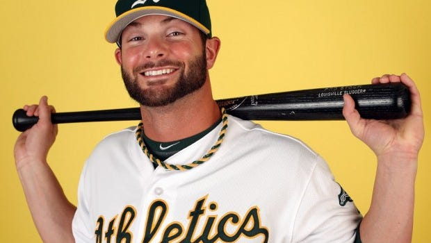 Brockport's Andy Parrino will get another shot with the Oakland A's.