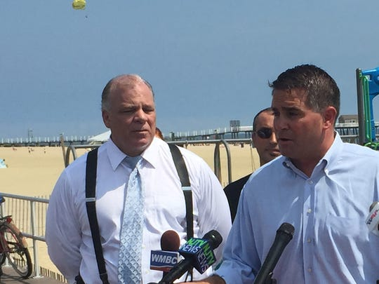 Belmar Mayor Matt Doherty introduces New Jersey Senate
