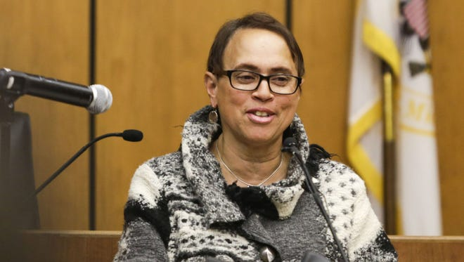 Judge Denise Page Hood, shown in February 2014, is the new chief federal judge in eastern Michigan, which includes courthouses in Ann Arbor, Flint, Port Huron and Bay City.