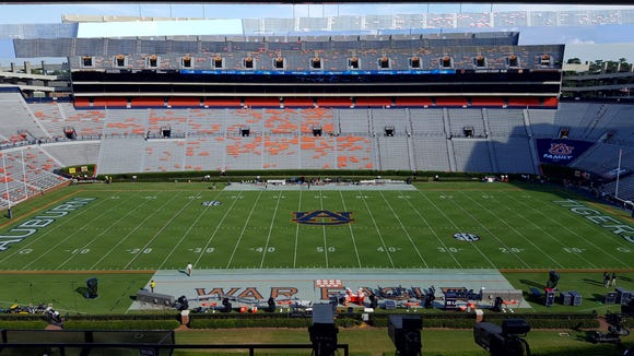 Auburn will look to rebound from last week's loss to