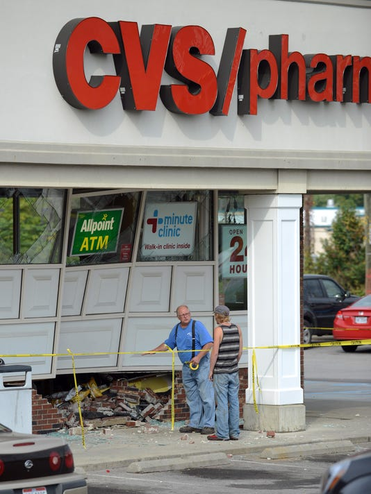 CVS crash