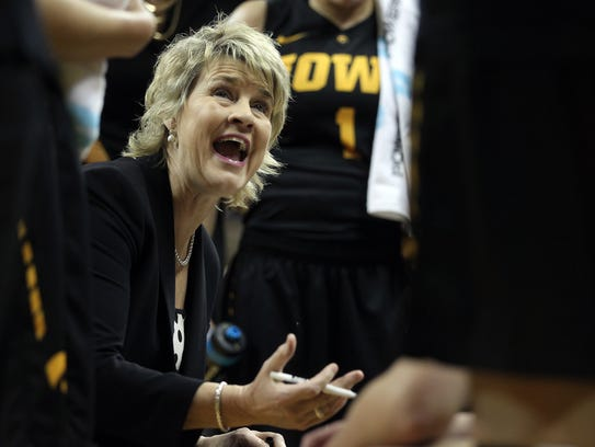 Iowa head coach Lisa Bluder has joined the Des Moines
