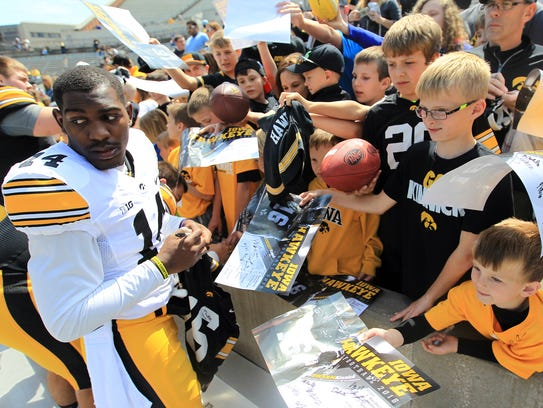 Iowa cornerback Desmond King was likely heading to