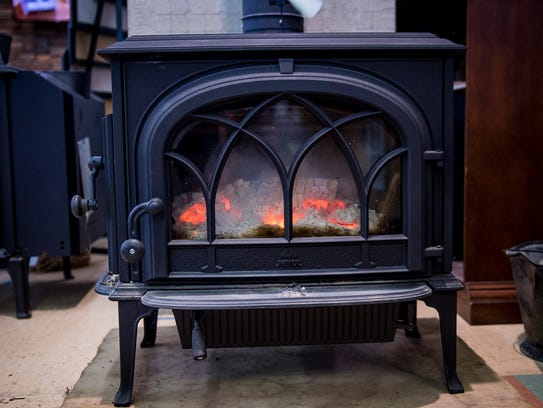 A Jotul wood burning stove from Buntings Fireplace