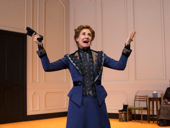 """Laurie Metcalf in """"A Doll's House, Part 2."""""""