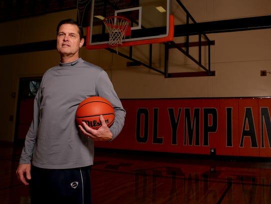 Steve Masten, the Sprague boys basketball head coach.