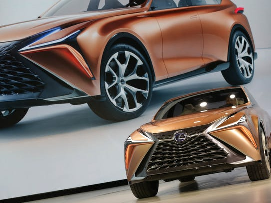The Lexus LF-1 Limitless concept crossover is introduced