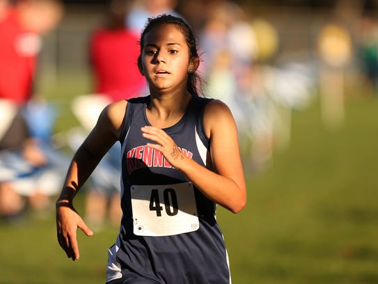 Kennedy's Alejandra Lopez finishes second in the 3A/2A/1A-SD2