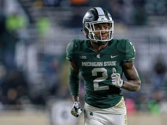 Justin Layne came to Michigan State as a receiver in 2016.