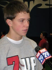 Then-Red Lion Christian Academy seventh-grader David