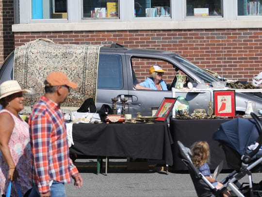 The Rutherford Labor Day Street Festival is the largest