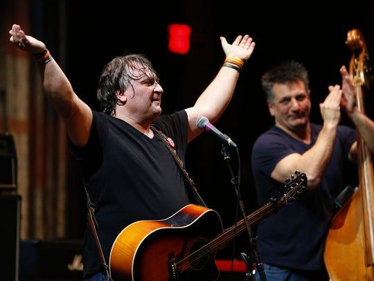 Joe D'Urso & Stone Caravan perform during Light of