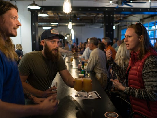 Perfect Plain Brewing Co. held its grand opening Tuesday,