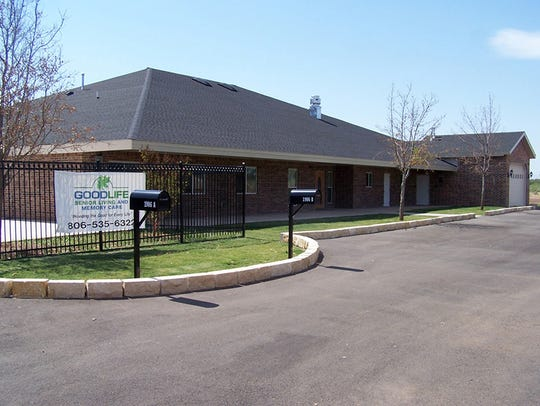 This assisted living center in Snyder is similar in