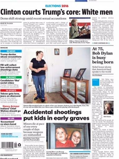 Gun violence story