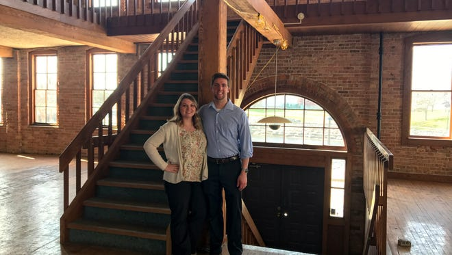 Developers Caitlynn and Cody Newman of Restore (269) received a $415,000 grant from the Michigan Economic Development Corp. to restore a historic three-story building at 15 Carlyle St. in downtown Battle Creek.